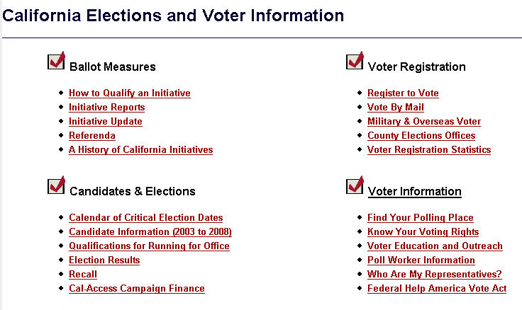 California About About Voter Voter California Data Voter Data California Data About About